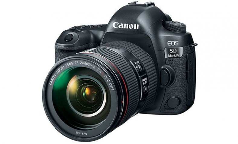 Canon EOS 5D Mark III example with video slider